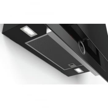 Campana decorativa de pared Bosch DWF97RV60 Cristal Negro de 90 cm a 717 m³/h | Motor EcoSilence Clase B | Serie 8 - 3