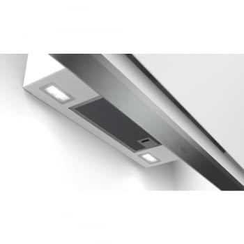 Campana Bosch DWK98PR20 Decorativa Inclinada Cristal Blanco 90cm 840m3/h A+ WIFI Promocionada - 4