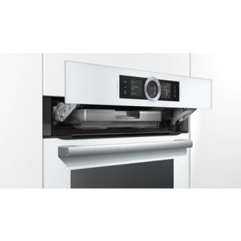 Horno de Vapor Bosch HSG636BW1 Inox| Cristal Blanco| Multifunción| Abatible| Clase A+ promocionado - 7