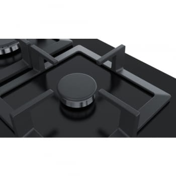 Placa de Gas Natural Bosch PPC6A6B20 de 60 cm con 3 Quemadores FlameSelect a 9 niveles | Serie 6 - 4