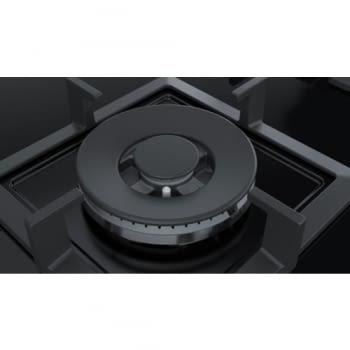 Placa de Gas Natural Bosch PPC6A6B20 de 60 cm con 3 Quemadores FlameSelect a 9 niveles | Serie 6 - 6