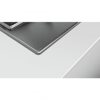 Placa de Gas Natural Bosch PCC6A5B90 Inoxidable de 60 cm con 2 Quemadores de Gas FlameSelect a 9 niveles + 1 Quemador Wok | Serie 6 - 2