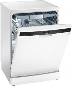 Siemens SN258W01TE Lavavajillas Blanco 60cm | 14 Servicios A+++| 3a Bandeja | Zeolitas | Promocionado
