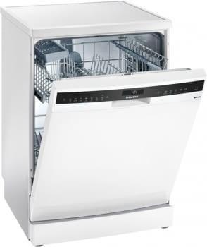 Lavavajillas Siemens SN258W02IE Blanco 60cm | 13 Servicios | Secado por Zeolitas | A+++