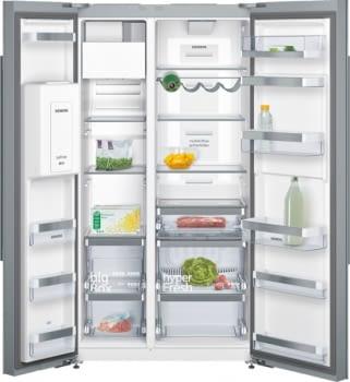 Siemens KA92DSW30 Frigorífico Americano | Cristal Blanco | Wifi Home Connect | Promocionado | Envío + Instalación + Retirada Gratis