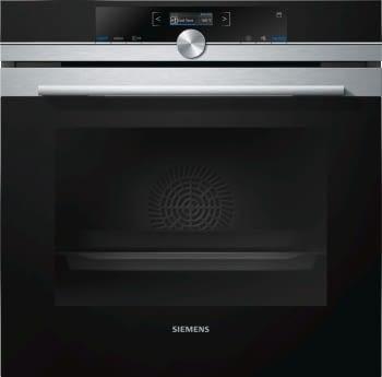 Horno Siemens HR675GBS1 Pirolítico Inoxidable de 60 cm con Vapor | Recetas programadas cookControl | Clase A+ | iQ700
