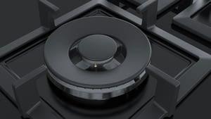 SIEMENS EP6A6CB20 Placa Gas 60cm Cristal Negro 3 Fuegos - 6