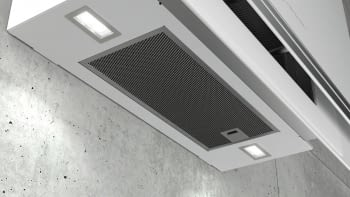 Siemens LC97FVW20 Campana decorativa de pared Cristal Blanco 90cm Home Connect | Promocionada - 2