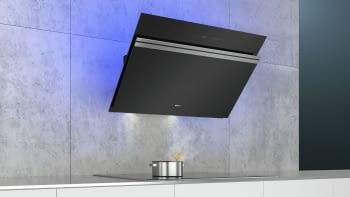 Siemens LC91KWW60 Campana decorativa de pared 90cm Cristal Negro   Home Connect   A+ - 2