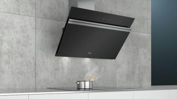 Siemens LC91KWW60 Campana decorativa de pared 90cm Cristal Negro   Home Connect   A+ - 3