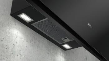Siemens LC91KWW60 Campana decorativa de pared 90cm Cristal Negro   Home Connect   A+ - 7