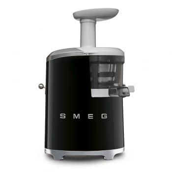 Licuadora SJF01BLEU SMEG Negro de 150 W, con Tecnología de extracción lenta 43 RPM | Jarra 500ml en Tritan | Palanca de ajuste de zumo