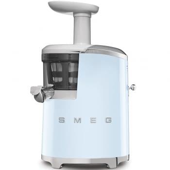 Licuadora SJF01PBEU SMEG Azul de 150 W, con Tecnología de extracción lenta 43 RPM | Jarra 500ml en Tritan | Palanca de ajuste de zumo