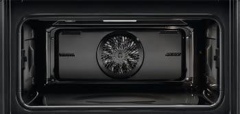 Horno Microondas AEG KME761000B Compacto 45cm Esmaltado Cristal Negro Grill de 1900 W con 19 funciones disponibles - 6