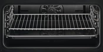Horno Microondas AEG KME761000B Compacto 45cm Esmaltado Cristal Negro Grill de 1900 W con 19 funciones disponibles - 7
