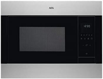 Microondas AEG MSB2548C-M Columna 60cm Altura 45cm | Grill 1100W | Micro 900 W | 23 Litros | Acero Inoxidable Antihuellas