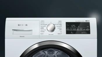 Secadora Siemens WT47G439EE Blanca de 9 Kg con Bomba de Calor | Función Pausa + Carga | Clase A++ | iQ500 - 2