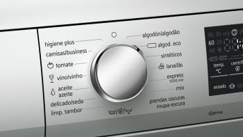 Siemens WU14Q48XES Lavadora Inox Antihuellas 8Kg 1400RPM | A+++ -30% - 3