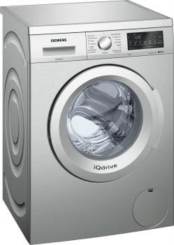 Siemens WU12Q48XES Lavadora 8kg Inox Antihuellas | 1200rpm | A+++ -30% | Promocionada