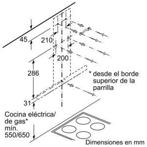BALAY 3BC067EX CAMPANA INOX 60CM 730M3/H - 8