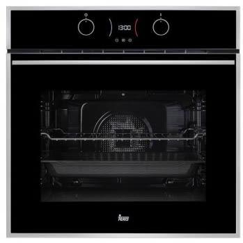 Horno Teka HLB 850 de 60cm en Cristal Negro con 9 funciones de cocción a 5 alturas   1 Guía Extraíble    A+