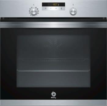 Horno Balay 3HB4841X1 Pirolítico Inoxidable de 60 cm | Cocinado 3D Profesional | 10 recetas automáticas AutoChef | Clase A | Stock ⭐