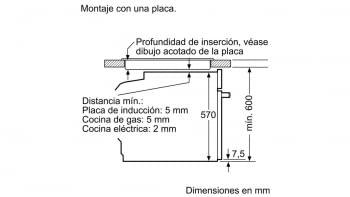 BALAY 3HB4331X0 HORNO INOX MULTIFUNCION ABATIBLE A SERIE ACERO - 2