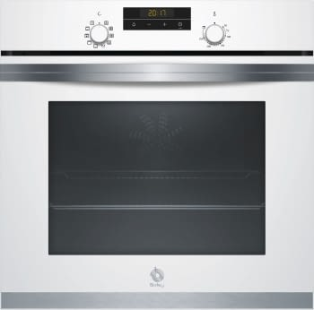BALAY 3HB4331B0 HORNO BLANCO MULTIFUNCION ABATIBLE A SERIE ACERO | STOCK
