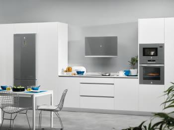 Campana Decorativa Vertical BALAY 3BC497GG   90 cm  Gris Antracita   730 m³/h   Encastrable  Serie Cristal  Stock - 5