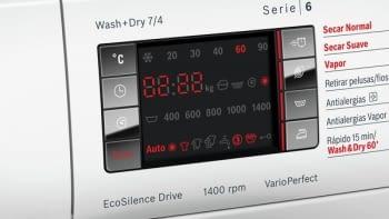 Lavasecadora Bosch WVH28471EP Lavado 7Kg Función Secado 4Kg 1400rpm Bajo Consumo - 3