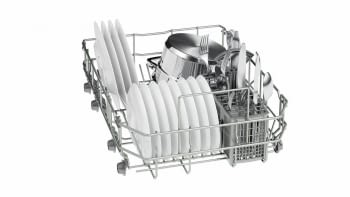 Lavavajillas Bosch SPS25CI05E Inox de 45 cm para 9 servicios | Motor EcoSilence Clase A+ | Serie 2 - 4