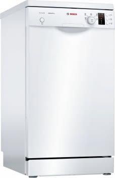 Lavavajillas Bosch SPS25CW05E Blanco de 45 cm para 9 servicios | Motor EcoSilence Clase A+ | Serie 2