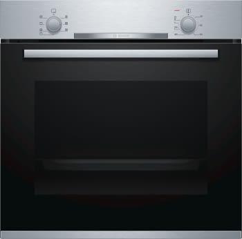 Horno Bosch HBA510BR0 Inoxidable de 60 cm | Calentamiento 3D Profesional | Clase A | Serie 2