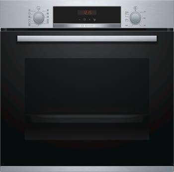 Horno Bosch HBA574BR00 Pirolítico Inoxidable de 60 cm | Recetas pre-programadas Gourmet | Calentamiento 3D Profesional | Clase A | Serie 4