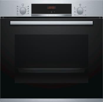 Horno Bosch HBA512BR0 Inoxidable de 60 cm | Calentamiento 3D Profesional | Clase A | Serie 4