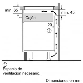 BALAY 3EB967AU INDUCCION GRIS ANTRACITA 3 ZONAS MAX 32CM BISELADA - 9
