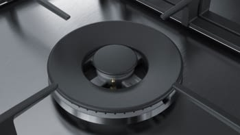 Placa de Gas Natural Bosch PCS7A5B90 Inoxidable de 75 cm con 4 Quemadores de Gas FlameSelect a 9 niveles + 1 Quemador Wok | Serie 6 - 5