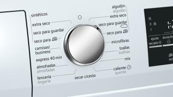 Siemens WT47G438ES Secadora Blanca 8KG A++ con Bomba de calor | Promocionada - 3