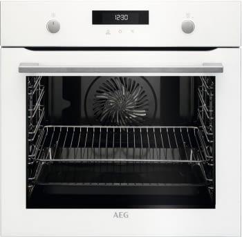 Horno AEG BPK535120W Pirolítico, Blanco, de 71 L, con tecnología SurroundCook | Clase A+