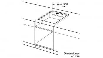 Siemens EH651BJB1E Inducción 60cm Negra | 3 Zonas Inducción - 7