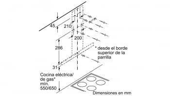 SIEMENS LC76BHM50 CAMPANA INOX CRISTAL NEGRO 75CM 580M3/H A - 6