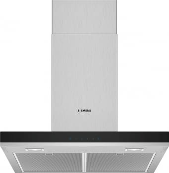 Campana de Pared Decorativa Siemens LC66BHM50 Metallic de 60 cm con una potencia de 605 m³/h | Clase B | iQ300