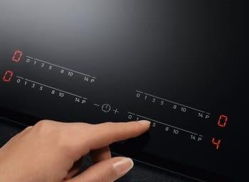 Placa de Inducción AEG IAE63431FB de 60 cm, 3 Zonas de cocción con PowerBoost   Conexión Placa-Campana Hob2Hood   Sensor de fritura SenseFry - 5