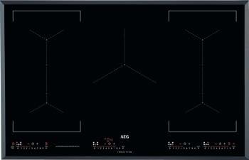 Placa de Inducción AEG IKE85651FB de 80 cm 5 zonas de cocción Hob2Hood