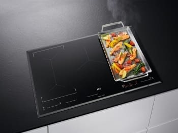 Placa de Inducción AEG IKE85651FB de 80 cm, 5 zonas de cocción Flexibles, con tecnología PowerBoost y conexión Hob2Hood - 2