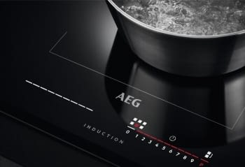 Placa de Inducción AEG IKE85651FB de 80 cm, 5 zonas de cocción Flexibles, con tecnología PowerBoost y conexión Hob2Hood - 3