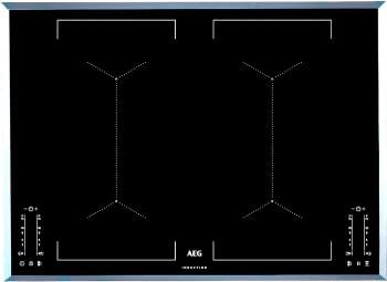 Placa de Inducción AEG IKE74451FB | 70 cm | 4 Zonas de cocción con PowerBoost | Conexión Placa-Campana Hob2Hood