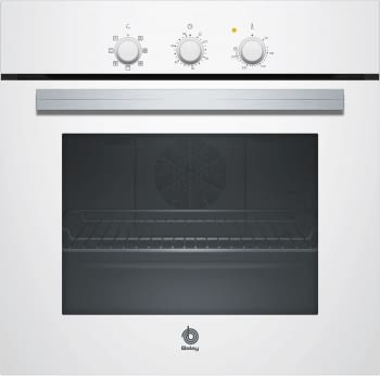 BALAY 3HB2010B0 HORNO BLANCO MULTIFUNCION ABATIBLE SERIE CRISTAL - 1