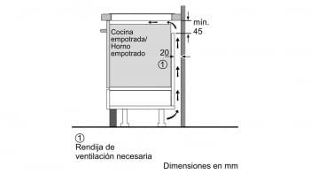 BALAY 3EB965AU INDUCCION GRIS ANTRACITA 3 ZONAS MAX 28CM BISELADA - 7