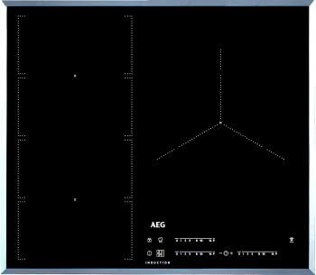 Placa Inducción AEG IKE63471FB SLIM Flexible Automática 60cm | Maxisense | Hob2Hood | PowerSlide